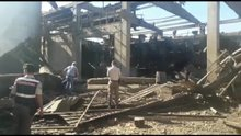 Söke'deki fabrikada patlama