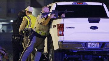 ABD'de konsere silahlı saldırı