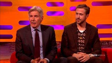 Harrison Ford Ryan Gosling'in adını unuttu