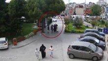 Taksim'de 5 kapkaçcı kadın kaza yapınca yakalandı
