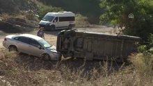 Ümraniye'de okul servisi kaza yaptı: 5 yaralı