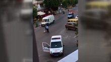 Sokak ortasında dehşet! 2 polis açığa alındı!