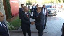 Kadir Topbaş'tan Mevlüt Uysal'a 'hayırlı olsun' ziyareti