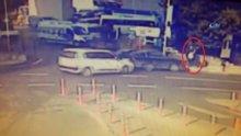 Ortaköy'de feci kaza kamerada