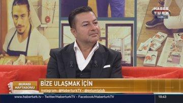 Ünlülerin berberi Şükrü Dudu Habertürk TV'de