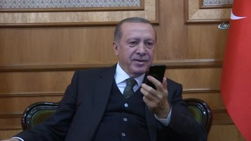 Erdoğan, Ampute Milli Takımı'nı tebrik etti