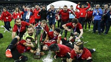 Ampute Milli Futbol Takımı, Avrupa Şampiyonu oldu