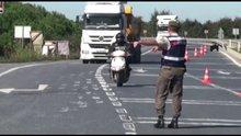 """81 İlde eş zamanlı """"SON SÜRAT"""" isimli motosiklet operasyonu yapıldı"""