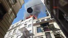 Beyoğlu'nda yangın