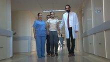Omuriliği kırıldı 3 gün sonra yürüdü