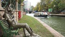 Büyükerşen'den çevreyi kirletenlere 'Çekirdek Çitleyen Eşek'li heykel tepkisi