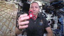 Uzay istasyonunda stres çarkı döner mi?