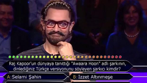 Aamir Khan'a ilginç soru