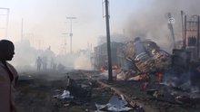 Somali'deki saldırıda ölü sayısı 300'ü geçti