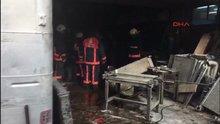 İkitelli'de mazot tankerinde patlama oldu