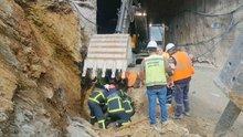 Kuzey Marmara Otoyol inşaatında göçük