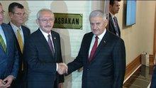 Başbakan Yıldırım, Kılıçdaroğlu ile bir araya geldi