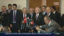 Başbakan Binali Yıldırım ile Kemal Kılıçdaroğlu görüşmesi sona erdi