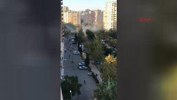 Mersin'de patlama meydana geldi