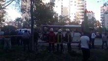 Polis servis aracına yönelik bombalı saldırı