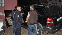 Polislerden kaçarken kaza yapan cipten uyuşturucu çıktı