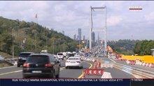 Fatih Sultan Mehmet Köprüsü'nde yoğun trafiğe neden olan çalışmalar tamamlandı