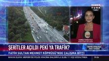 İstanbul'da trafik durumu