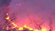 Dünyanın en aktif yanardağlarından birini gözlemlemek