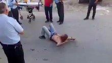 Türkiye'de 'flakka' isimli uyuşturucu kullanan bir kişi görüntülendi