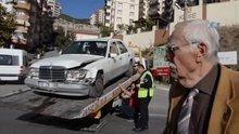 Eşref Kolçak kaza yaptı
