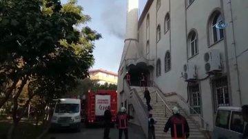 Kartal Cevizli'de camide yangın çıktı