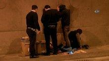Bomonti - Dolmabahçe Tüneli'ndeki evsizler tünelden uzaklaştırıldı