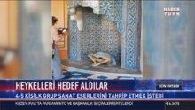 İstanbul Bienaline saldırı