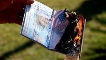 Amerika'ya kızdı, çocuklarının pasaportlarını yaktı