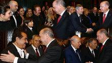 Cumhurbaşkanlığı Külliyesi'nde 29 Ekim Resepsiyonu