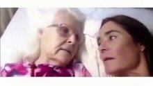 Alzheimer hastası anne kızını hatırladı