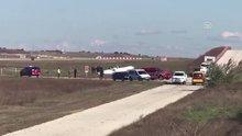 Tekirdağ'da eğitim uçağı düştü!