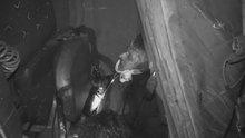 Kamyonun altında kalan sürücüyü 'Sadece yağın kırık' diyerek teselli ettiler