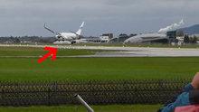 Dev yolcu uçağı facianın eşiğinden döndü!
