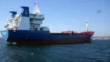 Kargo gemisi Şile açıklarında battı