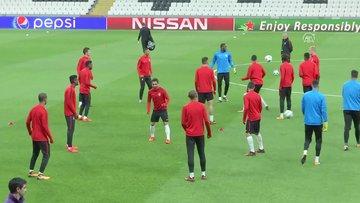 Monaco, Beşiktaş maçı hazırlıklarını tamamladı