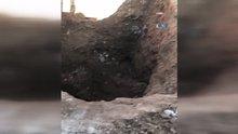 Türkiye-Suriye sınırında tünel bulundu