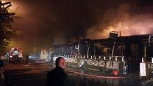 Beykoz Poyrazköy'de bir restoranda yangın!