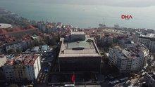 Atatürk Kültür Merkezi (AKM) havadan böyle görüntülendi