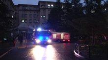 Ankara Eğitim ve Araştırma Hastanesinde yangın