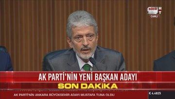 AK Parti'nin Ankara Büyükşehir Belediye Başkan adayı açıklandı
