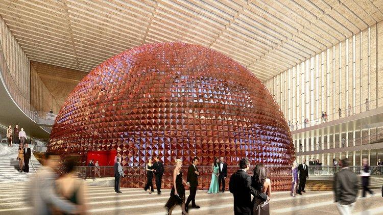 Yeni AKM binası tanıtıldı
