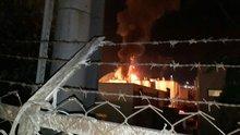 Kocaeli'de depolama sahasında tanker patladı