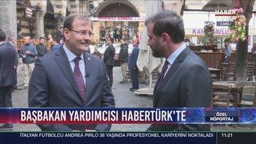 Başbakan Yardımcısı Hakan Çavuşoğlu Habertürk TV'de
