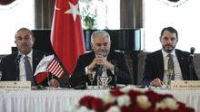 Başbakan Yıldırım, Washington'da kanaat önderleriyle bir araya geldi